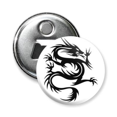 Магнит-открывашка дракон