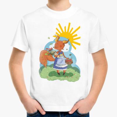 Детская футболка Белка!