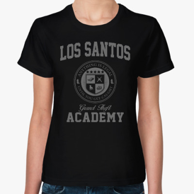 Женская футболка Los Santos Grand Theft Academy