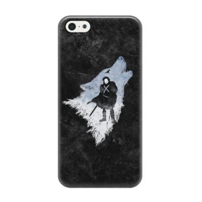 Чехол для iPhone 5/5s Игра Престолов: Джон Сноу