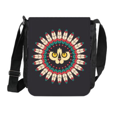 Сумка на плечо (мини-планшет) Cat Spirit Animal
