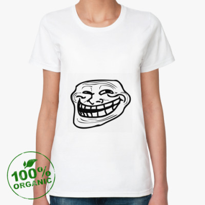 Женская футболка из органик-хлопка Coolface