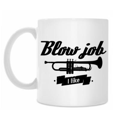 Кружка 'Blow job I like'