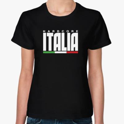 Женская футболка Hardcore Italia