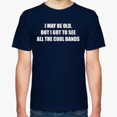 Футболка ALL THE COOL BANDS