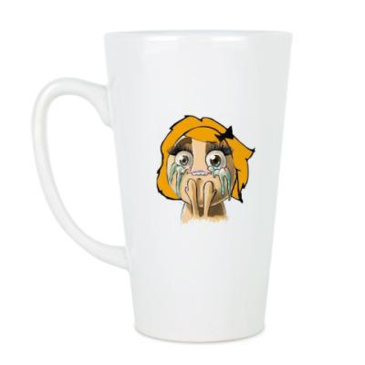 Чашка Латте Девочка