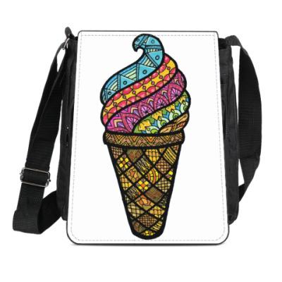 Сумка-планшет Мороженка