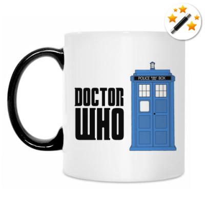 Кружка-хамелеон Doctor Who Tardis