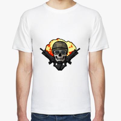 Футболка Skull Soldier