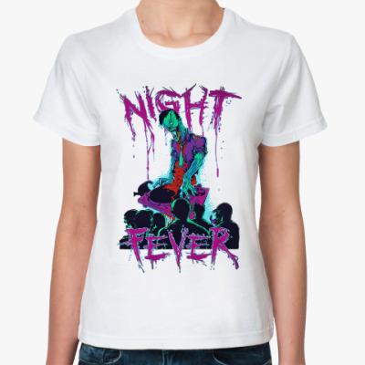 Классическая футболка Zombies Night Fever