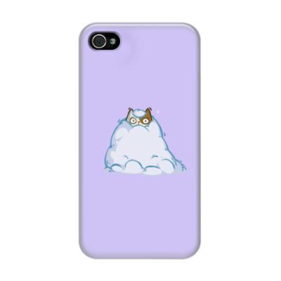 Чехол для iPhone 4/4s Снегокот — Пятничный Котик №40
