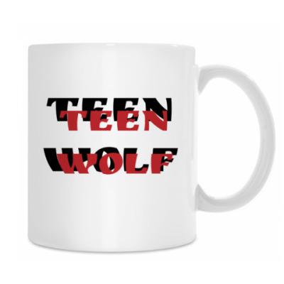 Кружка Teen Wolf, трискелион