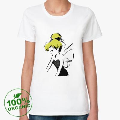 Женская футболка из органик-хлопка Фея