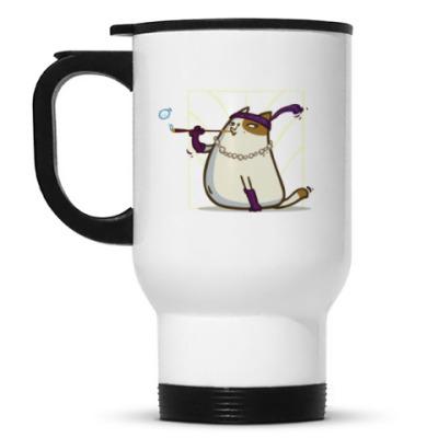 Кружка-термос Кэтсби — Пятничный Котик №33