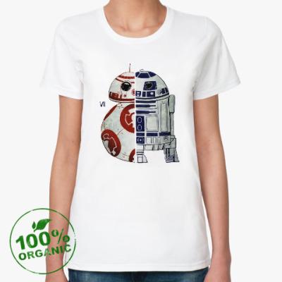 Женская футболка из органик-хлопка Star Wars / Звездные войны