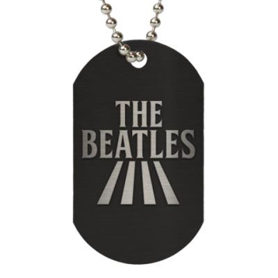 Жетон dog-tag The Beatles