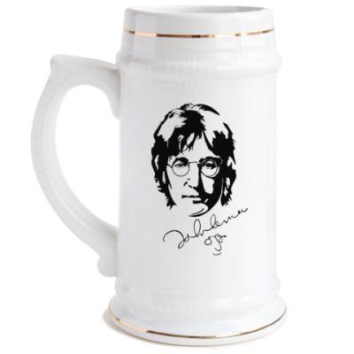 Пивная кружка The Beatles - John Lennon