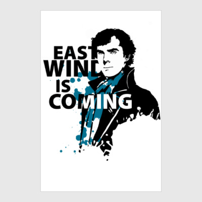 Постер East Wind is coming