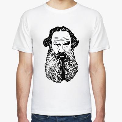 Футболка Лев Толстой
