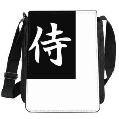 Сумка-планшет Иероглиф Самурай