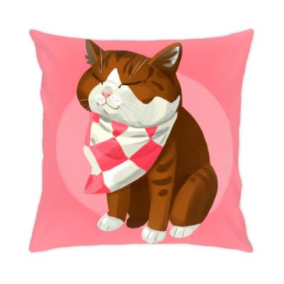 Подушка Японский кот