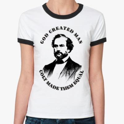 Женская футболка Ringer-T Кольт