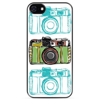 Чехол для iPhone  Винтажный фотоаппарат