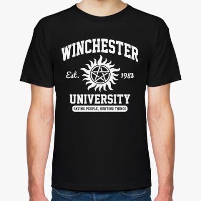 Футболка Winchester University