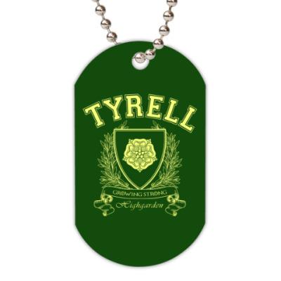 Жетон dog-tag House Tyrell