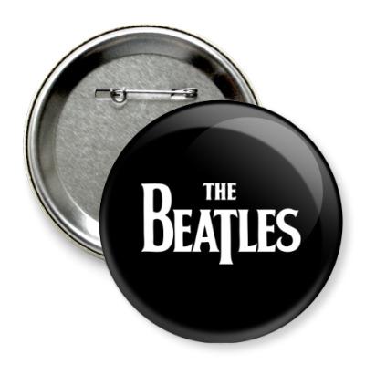 Значок 75мм The Beatles