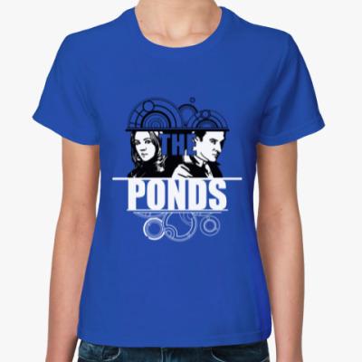 Женская футболка The Ponds