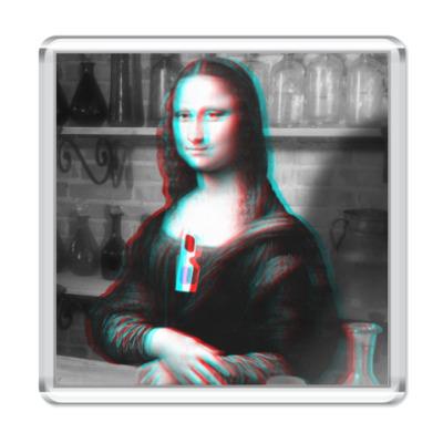 Магнит Mona Lisa Leonardo da Vinci