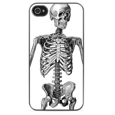 Чехол для iPhone Скелет