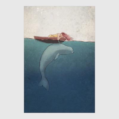 Постер Whale