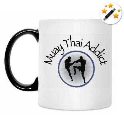Кружка-хамелеон Muay Thai