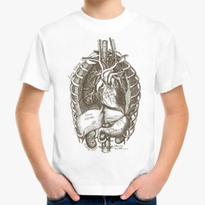 Детская футболка Внутренние органы