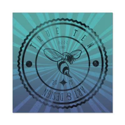Наклейка (стикер) Логотип True10art