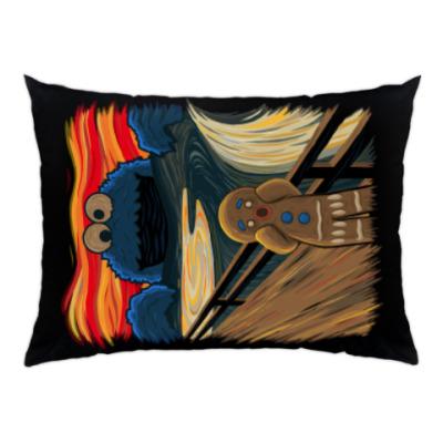 Подушка Cookie Monster The Scream