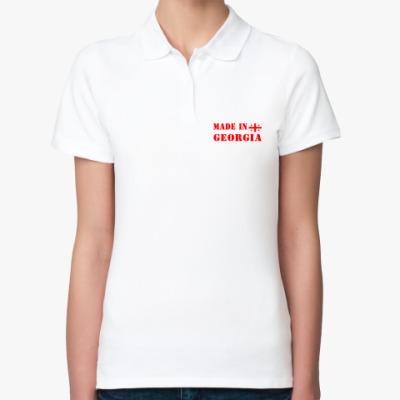 Женская рубашка поло Made in Georgia