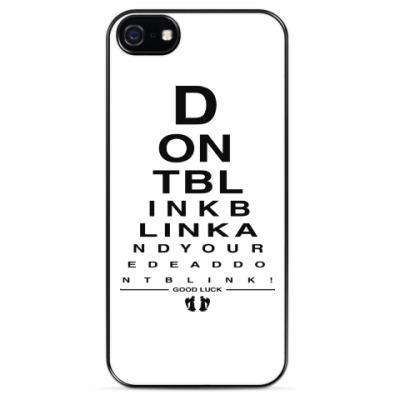 Чехол для iPhone Don't Blink