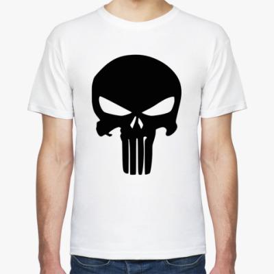 Футболка Каратель Череп, Punisher Skull