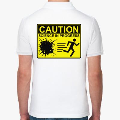 Рубашка поло Science in progress