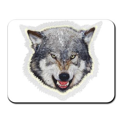 Коврик для мыши Волк