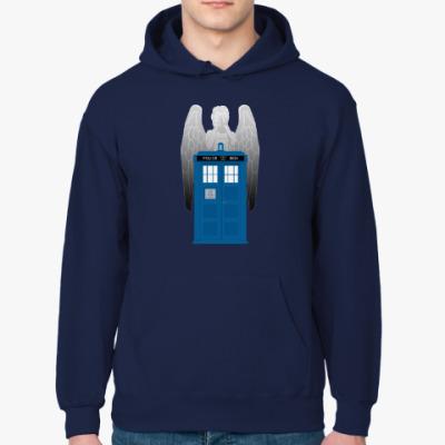 Толстовка худи Weeping Angel Doctor Who