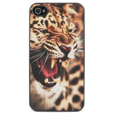 Чехол для iPhone Леопардовая