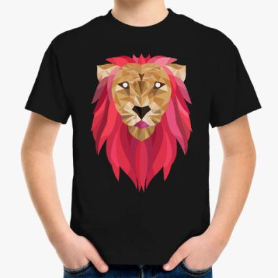 Детская футболка Лев / Lion