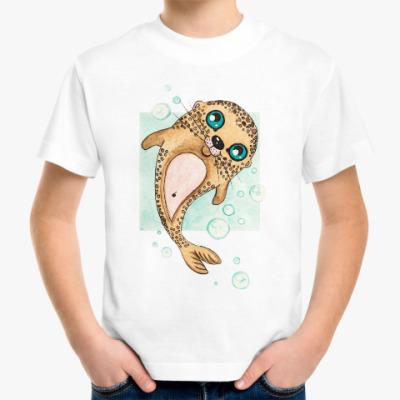 Детская футболка Маленький морской котик