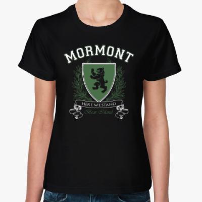 Женская футболка House Mormont