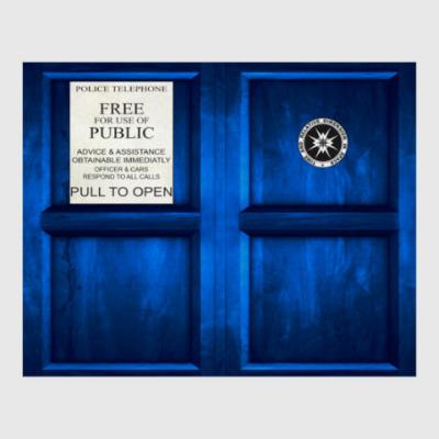 Постер TARDIS Doctor Who
