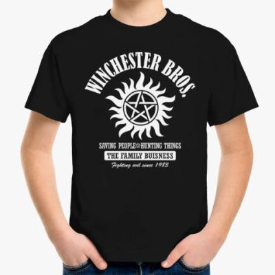 Детская футболка Winchester Brothers